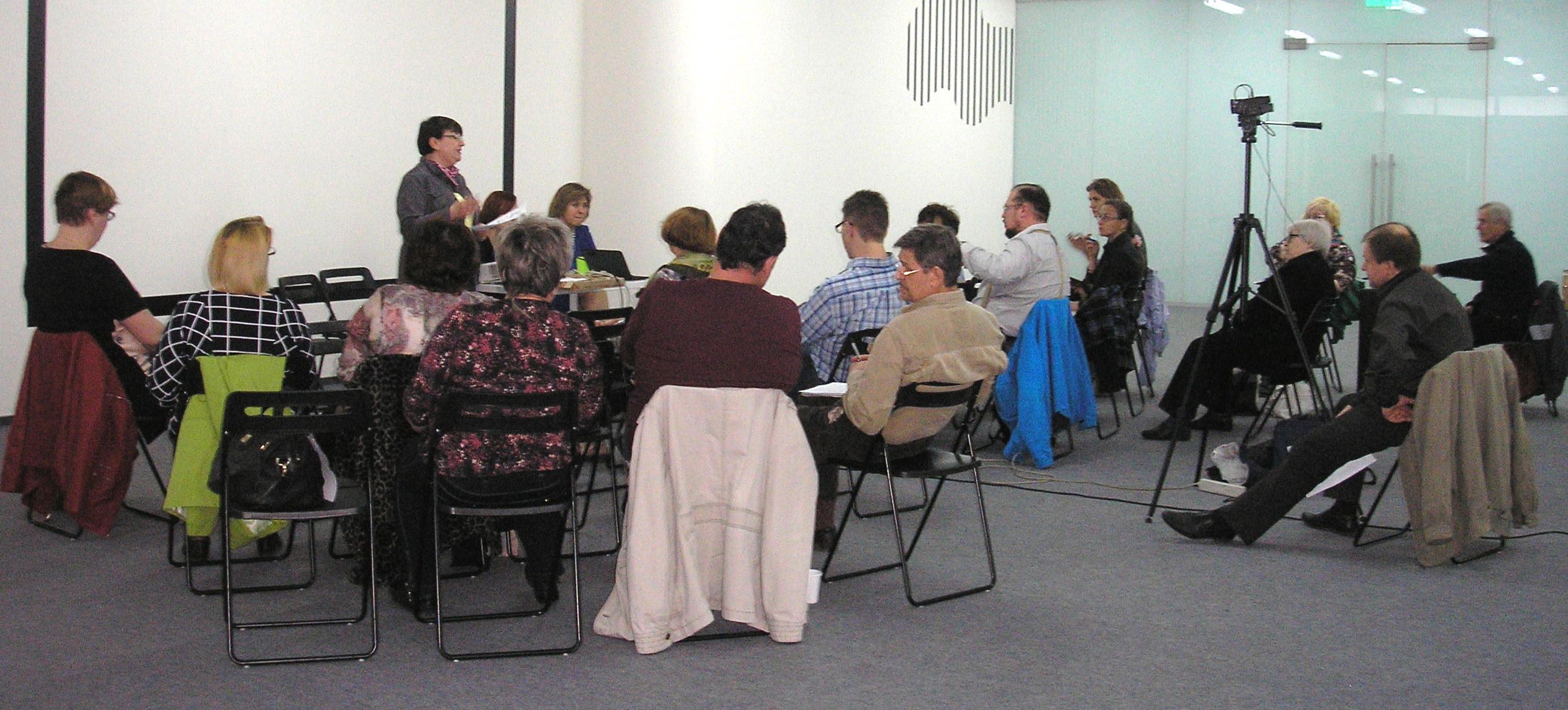 """Сотрудники благотворительного фонда """"Независимость"""" приняли участие в обучающем семинаре."""