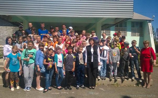 Спорт в летнем оздоровительном лагере села Николо - Павловское