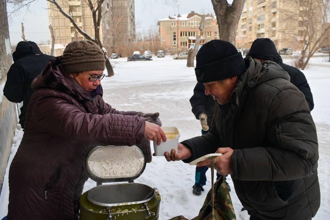 """Итоги совместной работы фонда """"Независимость"""" и ОО """"Тарелка добра"""" за январь 2018"""