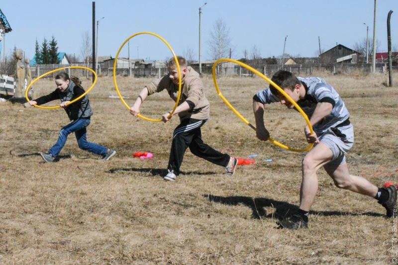 Спортивные состязания для детей