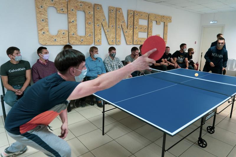 В рамках реализации Президентского гранта фондом «Независимость» состоялся товарищеский турнир по настольному теннису.