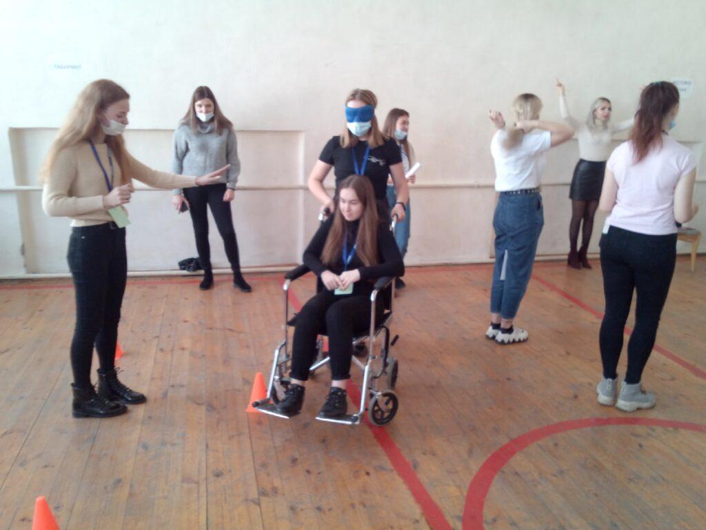 Участие в первой проектной школе волонтёрства и добровольчества