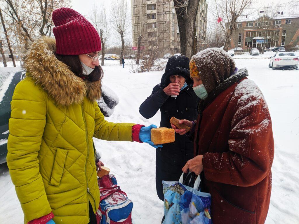 Продолжаем помогать нуждающимся. Отчёт за декабрь 2020