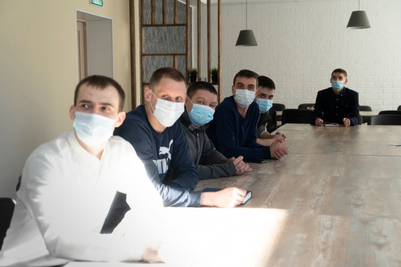 Встреча сотрудников по профилактике ВИЧ инфекции