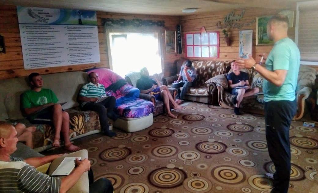 Тренинги в доме социальной поддержки и ресоциализации