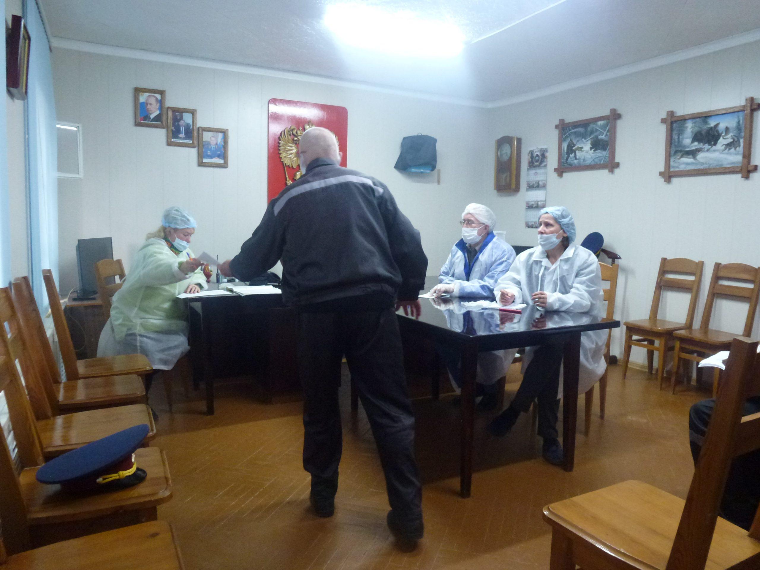 Посещение осужденных в ФКУ ИК 19 ГУФСИН РФ по Свердловской области
